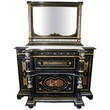 Early 19th Century Italian Hall Stand with Mirror