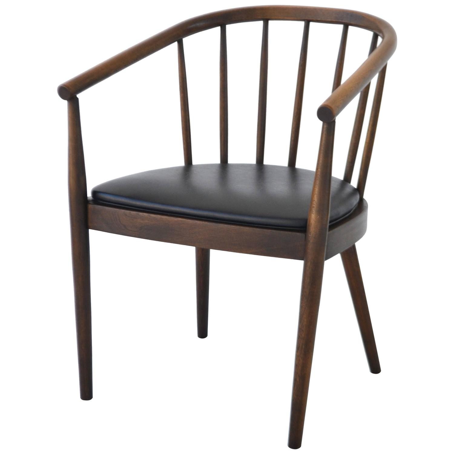 mid century bentwood side chair by lawrence peabody for richardson