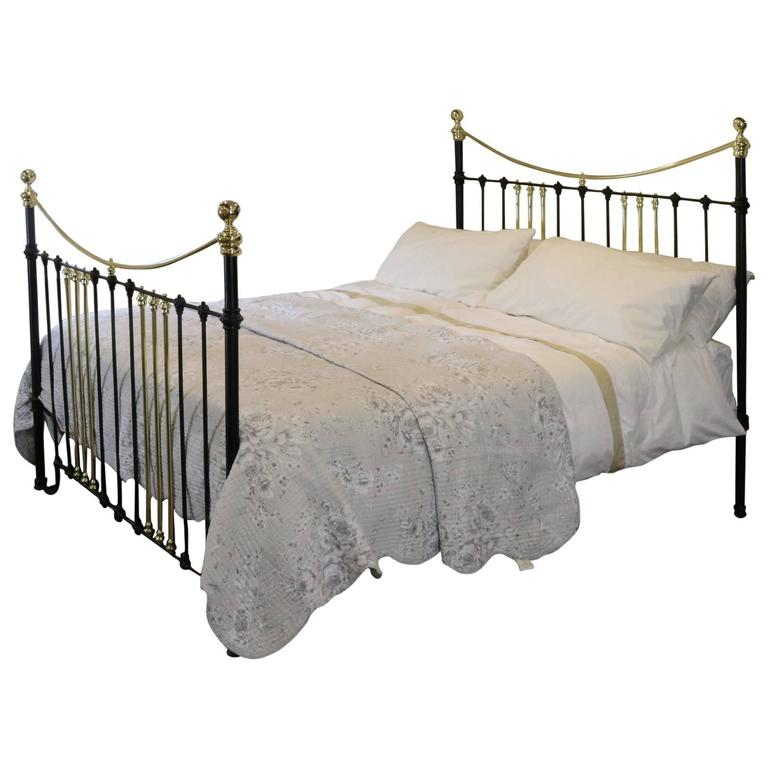 Brass and Iron Extra Wide Bed MSK24 1