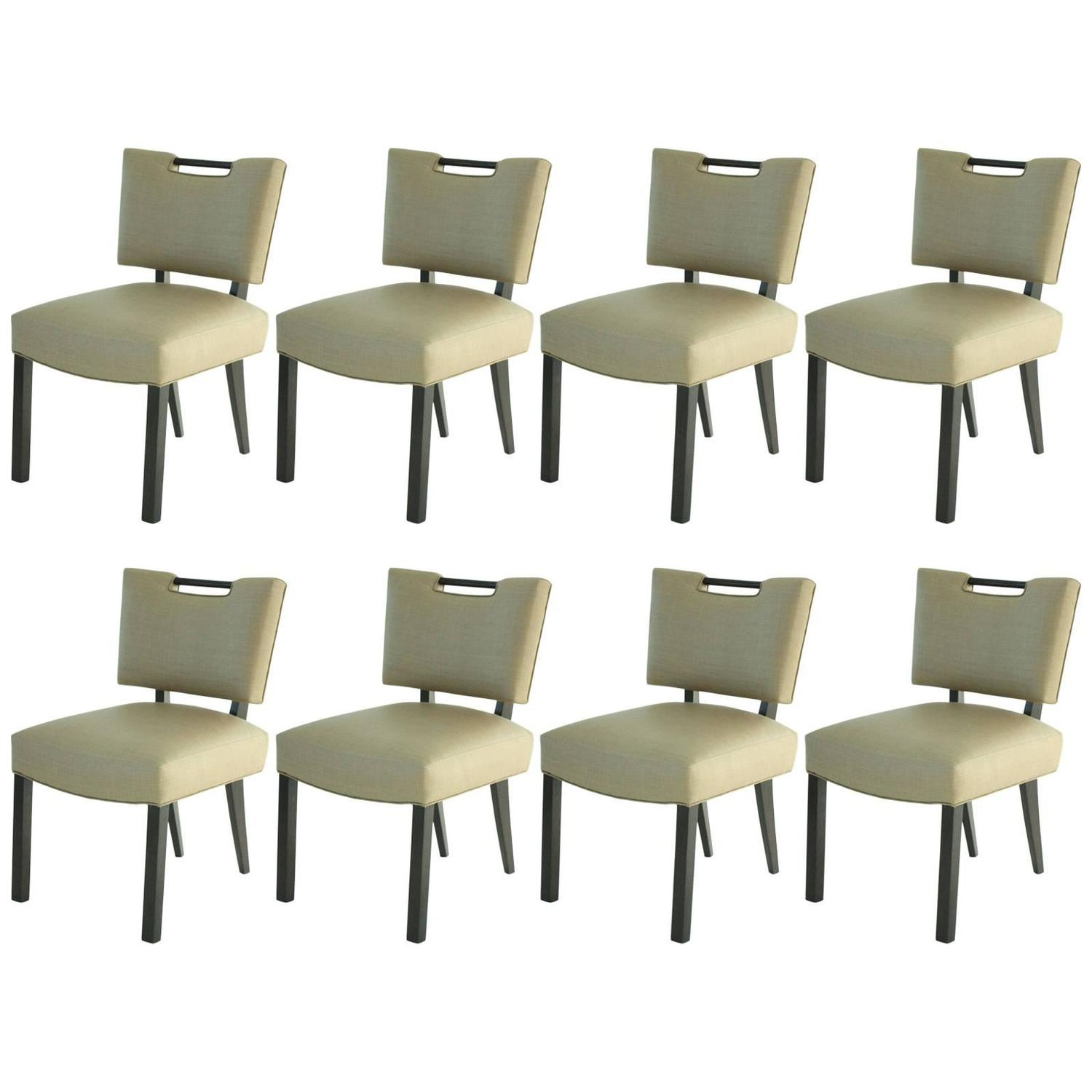 Modern Paul Laszlo Dining Chairs Set Of 8 For Sale At 1stdibs