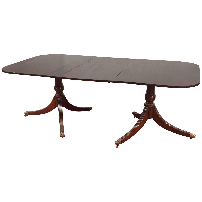 Pedestal Dining Table Leaf Home Design 2017