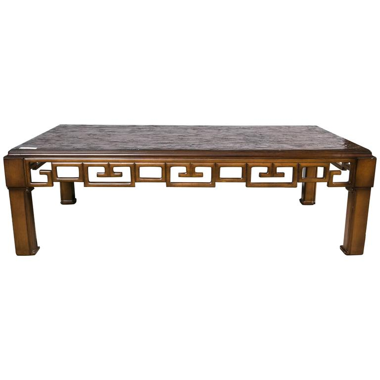 Asian Style And Greek Key Combination Coffee Tail Table Ralph Lauren For