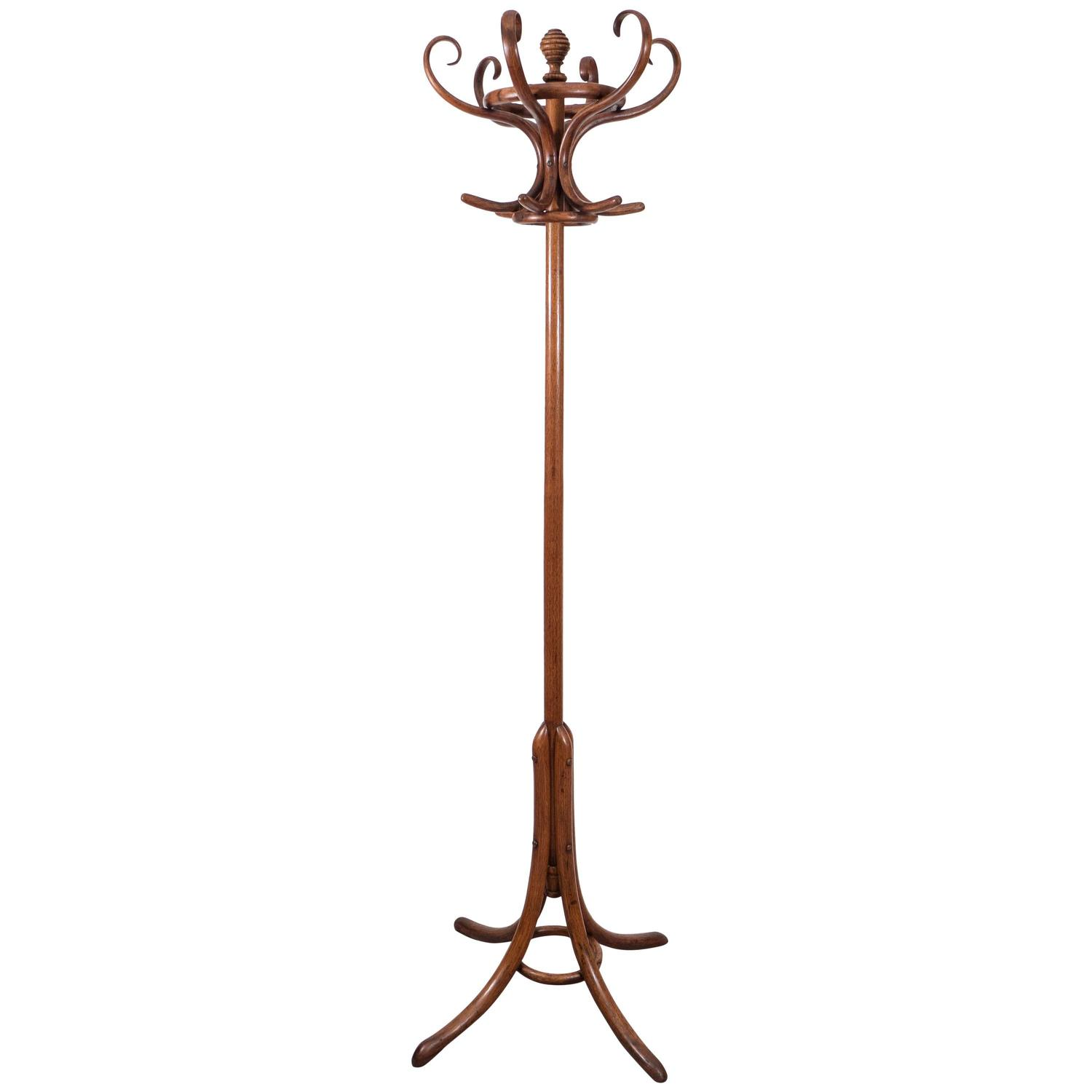 Antique Thonet Bentwood Coat Rack and Hall Tree at 1stdibs