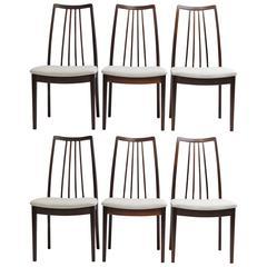 Kofod Larsen Danish Rosewood Dining Chairs