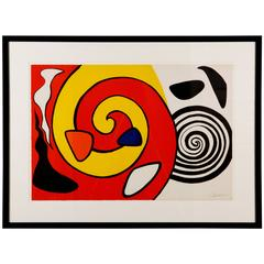 Abstract Swirls by Alexander Calder