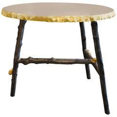 Bronze Coffee Table with Gilding