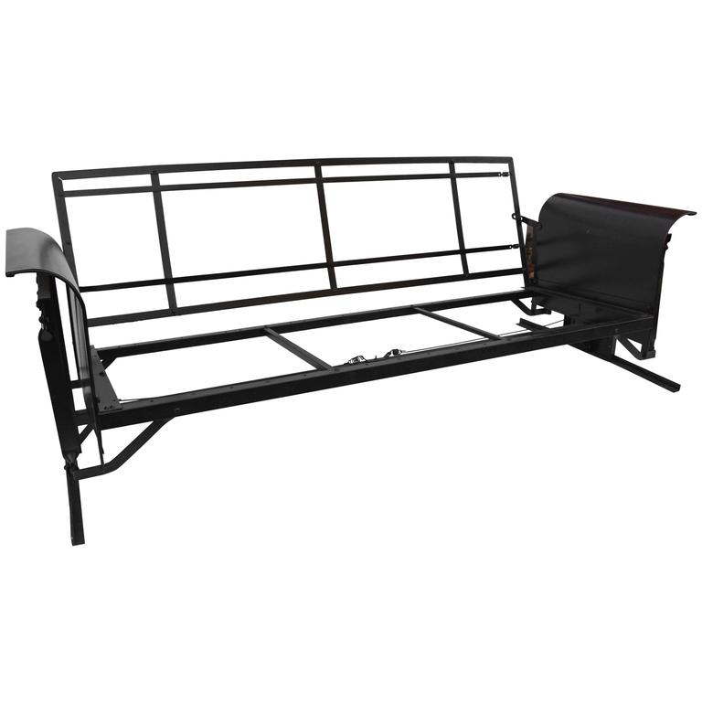 Tremendous Vintage Black Iron Porch Glider Caraccident5 Cool Chair Designs And Ideas Caraccident5Info