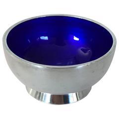 Mogens Bjorn-Anderson Salt Dish with Blue Enamel