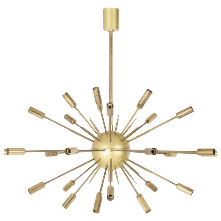Original Stilnovo Sputnik Chandelier