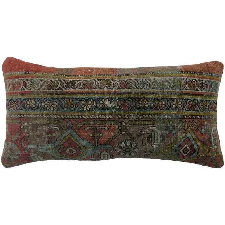 Bolster Pillow From Bidjar Rug At 1stdibs