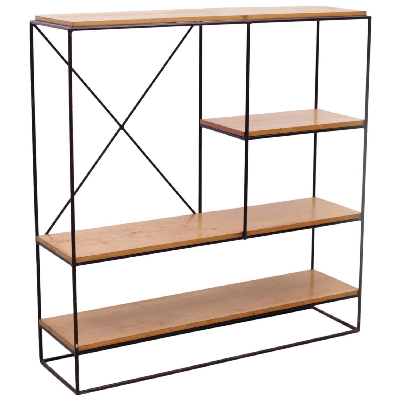 Paul Mccobb Planner Group Iron Shelf Unit For Sale At 1stdibs