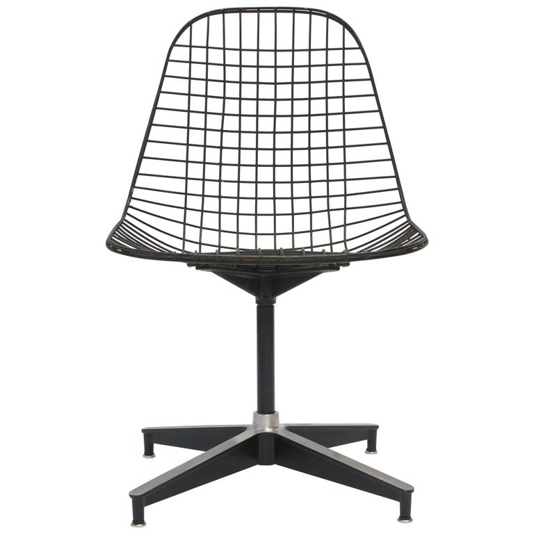 eames pkc wire chair herman miller 1955 at 1stdibs. Black Bedroom Furniture Sets. Home Design Ideas