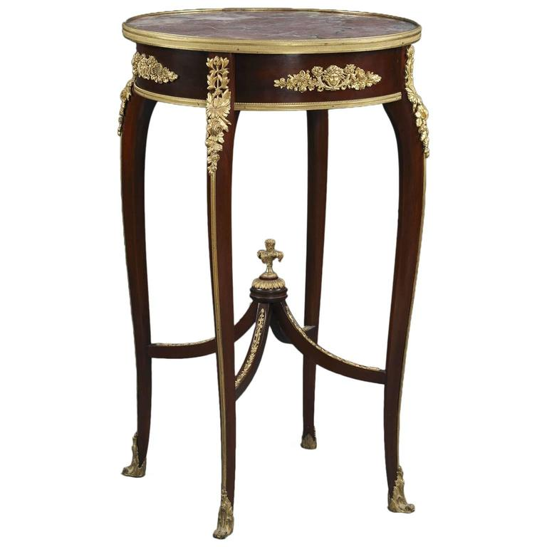 Louis Xv Style Table Attributed To Fran Ois Linke French