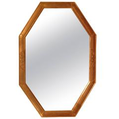 Art Deco Gilt Mirror