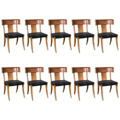 american dining room chairs set of six original painted fancy chairs