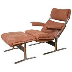 Kipp Stewart Lounge Chair and Ottoman