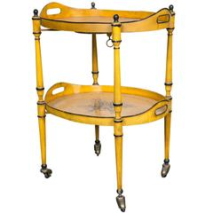 Tole Tray Table