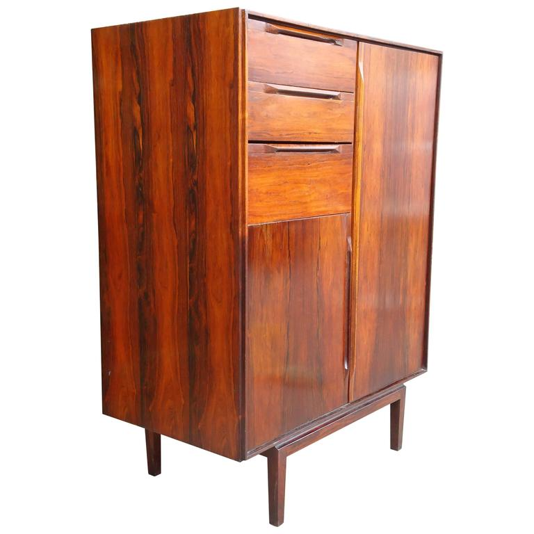 France and Son Rosewood Cabinet, attributed to Finn Juhl, Denmark, circa 1950