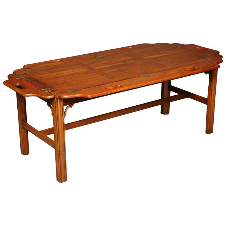 Mahogany butlers tray at 1stdibs Butler coffee tables