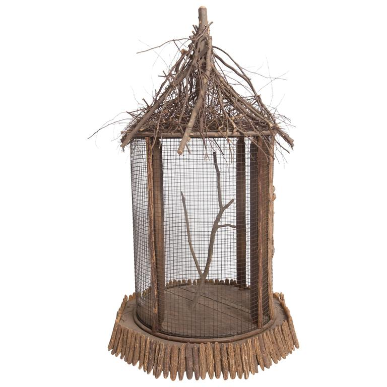 Twig Form Circular Bird Cage From Quot Templeton Estate Quot At