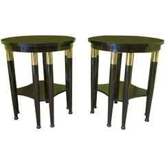 Gorgeous Pair of Side Tables