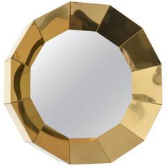 Curtis Jere Brass Mirror