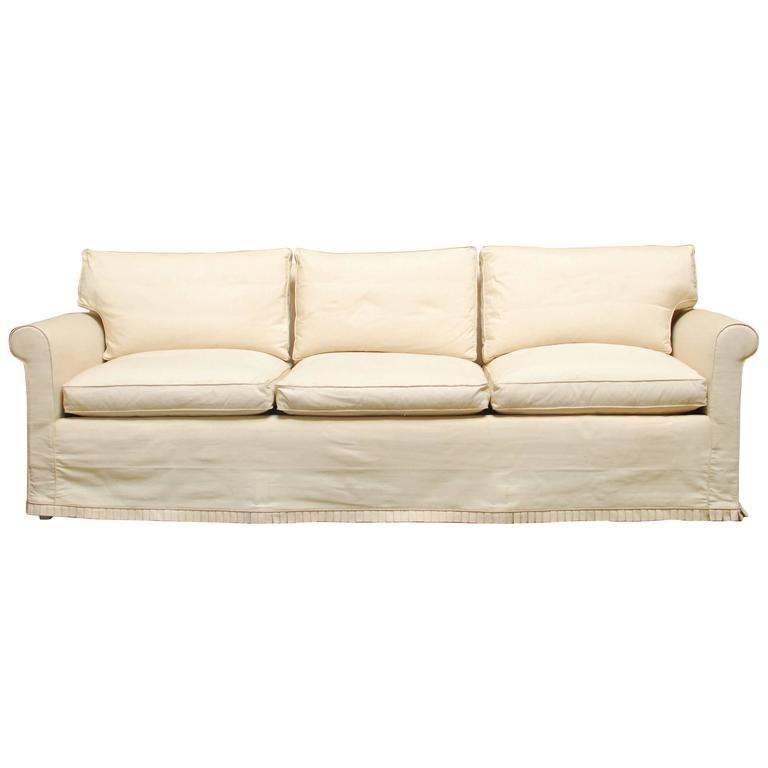 Slip cover style sofas for Slip sofa covers home style