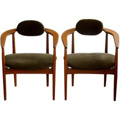 Pair of Armchairs by Adrian Pearsall