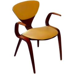 Rare Prototype Armchair by Norman Cherner