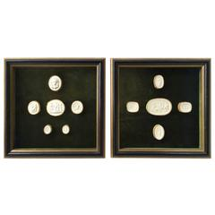 Pair of Framed Intaglios