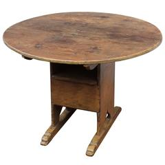 Early 19th Century New England Chair Table