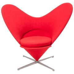 Armchair Heart Cone by Verner Panton for Vitra