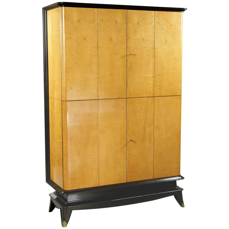 Four-Door Cabinet by Maurice Jallot, France, 1940
