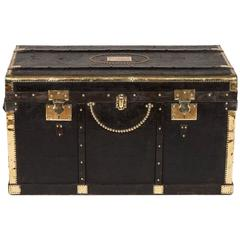 Black and Brass Trunk