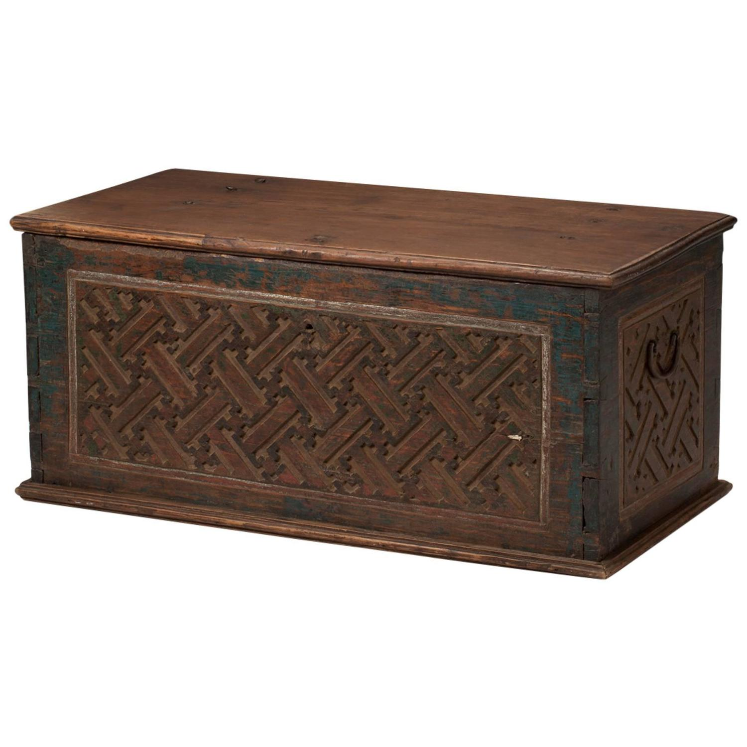 Antique Carved Box Indonesia 1920 For Sale At 1stdibs