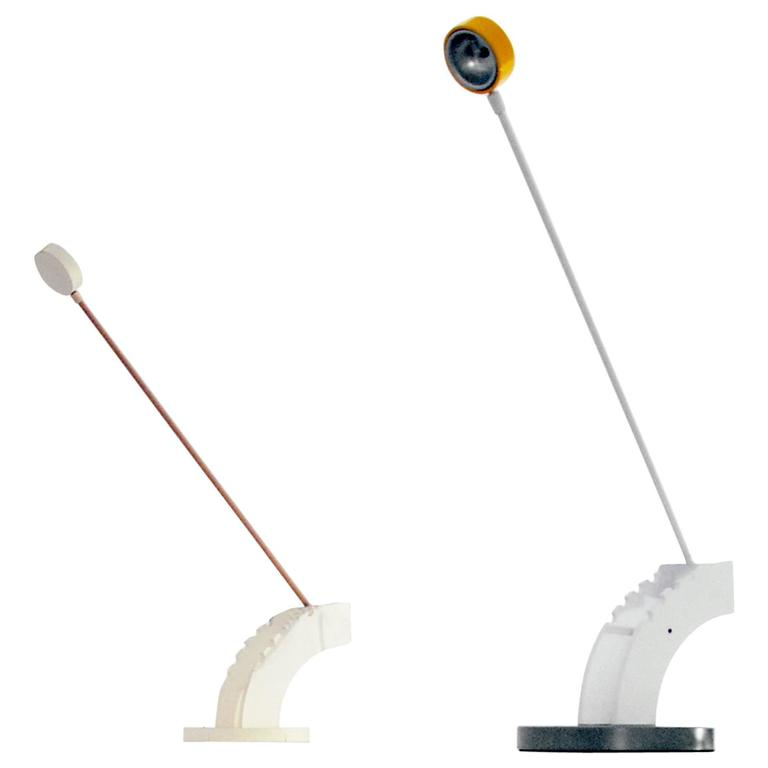 Lawrence Laske Prototype Lamp and Model, 1987