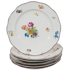 Antique Imperial Porcelain Dinner Dishes
