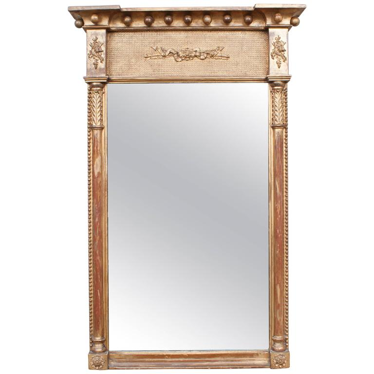 Regency Tabernacle Mirror, circa 1805, England For Sale