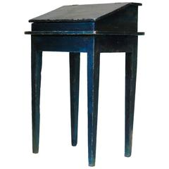 Painted Writing Desk, France, circa 1850s