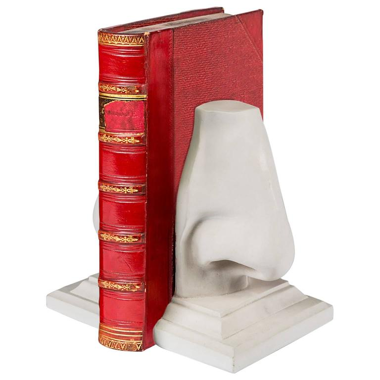 Resin nose bookend- sold individually. We have a limited number of these editions available.