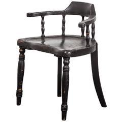 Black Desk Chair, Sweden