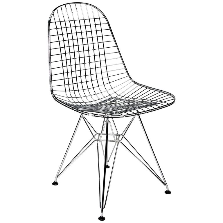 wire side chair  dkr  by charles and ray eames for vitra
