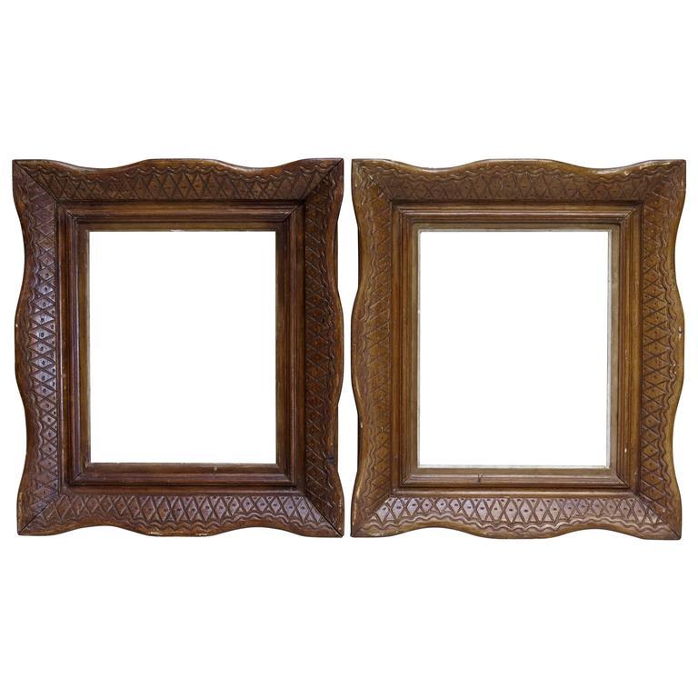 """Pair of E. Bouche """"Montparnasse"""" Frames - France, Circa 1930s For Sale"""