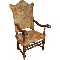 19th Century Spanish Revival Great Chair