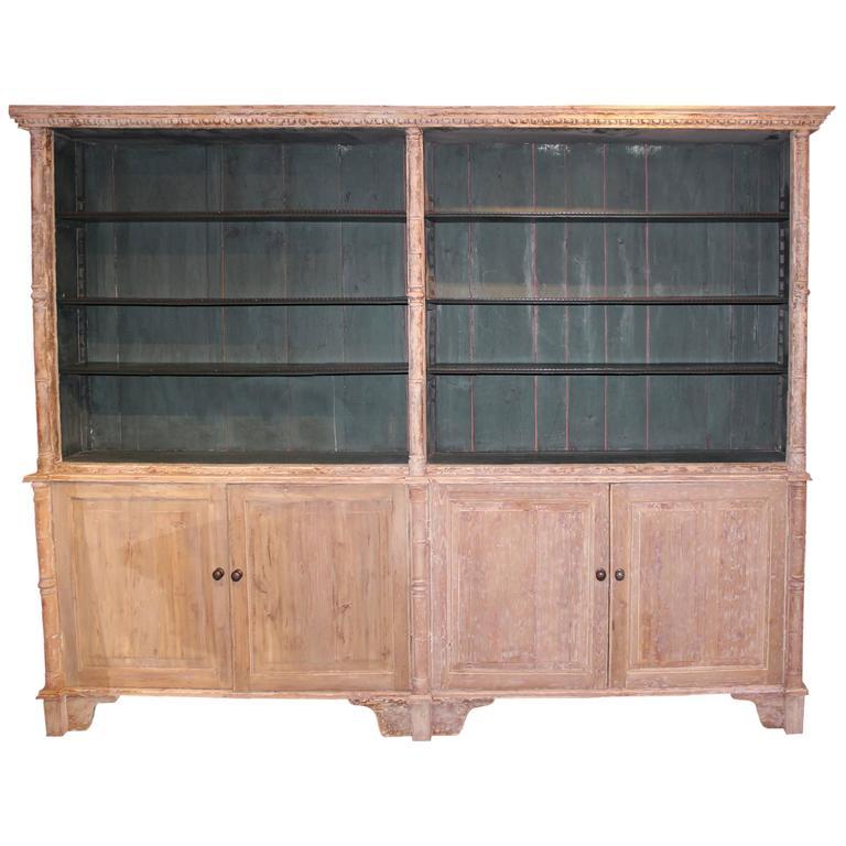 Country English Regency Bookcase, circa 1830