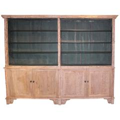 Country English Regency Bookcase, circa 1830