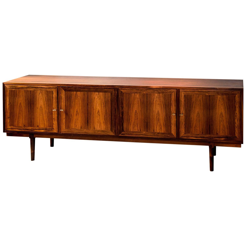 arne vodder rio palisander sideboard by vamo a s. Black Bedroom Furniture Sets. Home Design Ideas