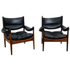 """Kristian Solmer Vedel, Pair of """"Modus"""" Chairs by Soren Willadsen, 1963"""