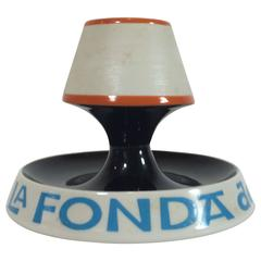 La Fonda Del Sol Ashtray and Match Holder by Alexander Girard, Early 1960s
