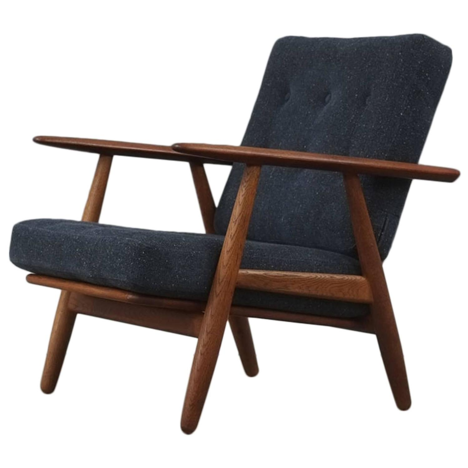 hans wegner cigar chair at 1stdibs. Black Bedroom Furniture Sets. Home Design Ideas